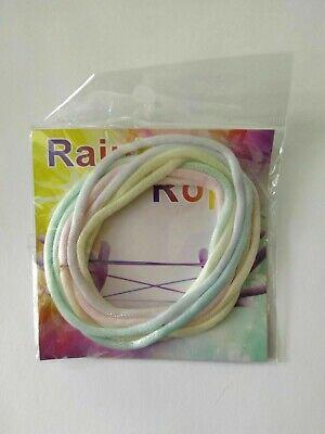 Rainbow Rope Jeu doigt jeu corde filament Ztringz casse tête Fais des figurines 4
