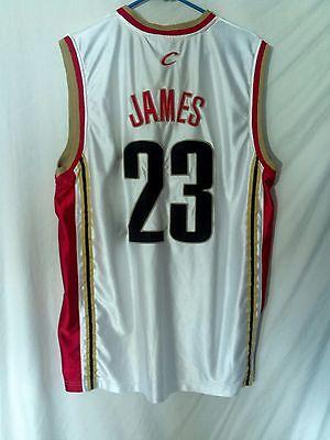 eb39a3685 ... Lebron James Cleveland Cavaliers Nba Basketball Pro Cut Jersey Champion  Size 48 5