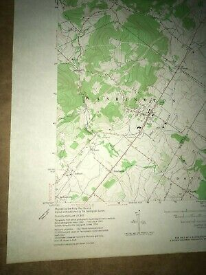 E. Greenville PA Montgomery USGS Topographical Geological Survey Quadrangle Map 4
