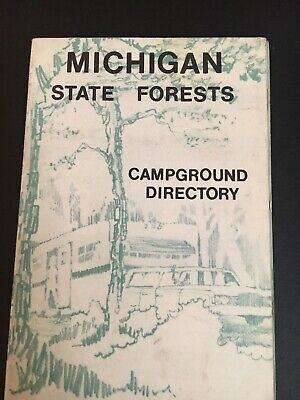 Michigan State Forests Campground Directory - Northern -Upper Peninsula 1970s 3