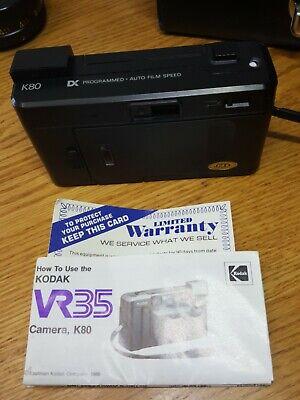 Lot Vtg Camera & Lenses Kodak VR35 Yashica Conversion Kit Tele-wide Finder Japan 6