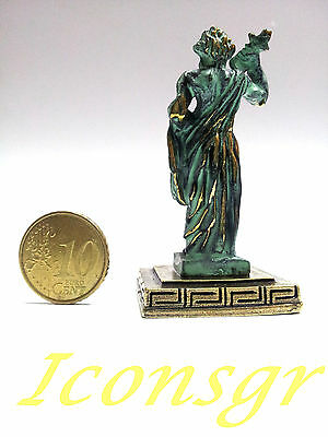 Ancient Greek Olympian God Miniature Sculpture Statue Zamac Zeus King Of Gods 3