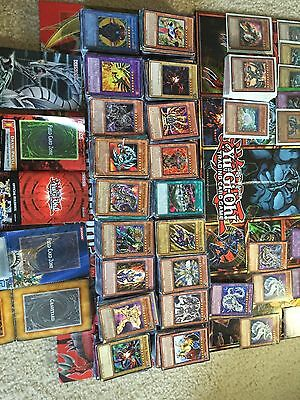YU-GI-OH COLLECTION YUGIOH CARDS LOT 50+ Cards SECRET HOLO RARE FREE SHIPPING 2