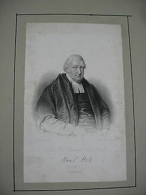 Rowland Hill - 1828 - ALS and Engraving - Bible 3