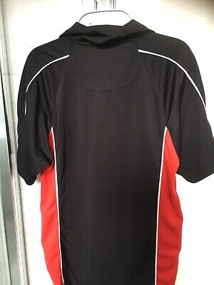 Unisex, Boys Or Girls Black And Red Sports Top Size XS By PB Sports 3