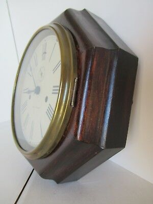 "Seth Thomas 8-day ""Lever"" wall clock 6"