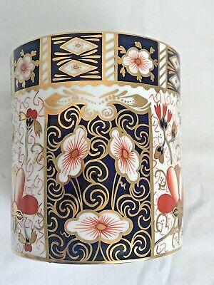 Rare Royal Crown Derby 2451 Or Traditional Imari Condiment Jar - Date Code 1917 8