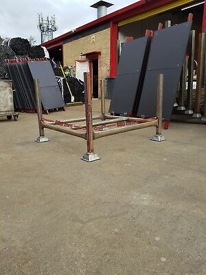 15 Steel Stillage,metal post pallet, stackable, post pallet, HD inc uk DEL