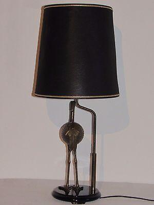 De Vintage Style 03d25 Table Lampe En 1970 Héron Laiton Ancienne OuwTXPklZi