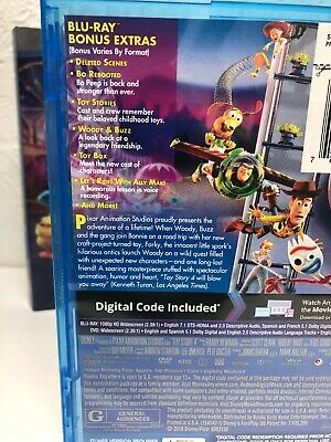 Toy Story 4 Blu-ray + Digital HD (NO DVD INCLUDED) Please Read (BEWARE OF FAKES) 5