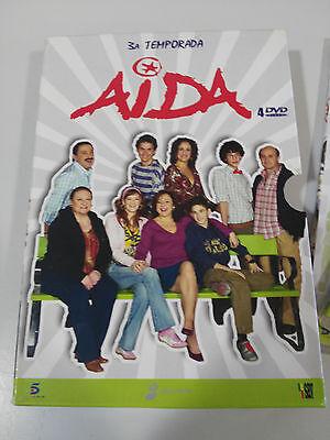 Aida Temporada 3 Tercera Completa - 4 Dvd Edicion Especial En Caja - Am 2