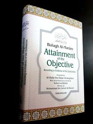 ISLAMIC BOOK (BULUGH AL-MARAM) PROPHET HADITH P in 2002. English Arabic 10