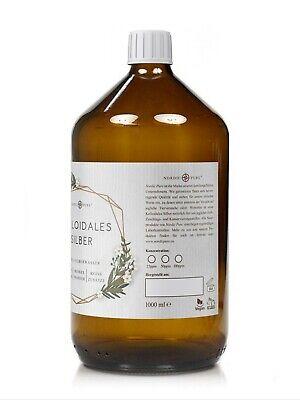 Kolloidales Silber (Silberwasser), 100ppm in Apotheker-Glasflasche (250-1000 ml) 6