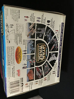 Galoob 1996 Micro Machines Star Wars Action Fleet Darth Vader's Tie Fighter 5