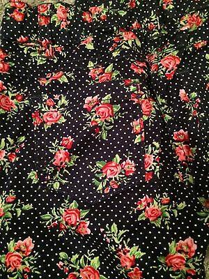 F&F Floral Rose Print Trousers Age 3-4 Yrs Bnwt 2