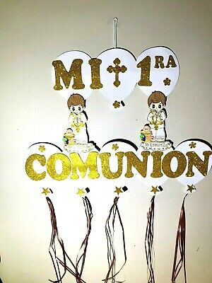 """1 First Communion Boy Girl Wall Decoration Foam Party Favors 30/"""" inches"""