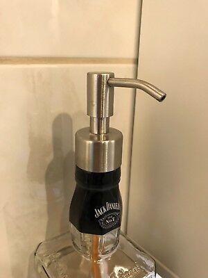 Jack Daniels Seifenspender 0,7 l Jacky Daniel's Spirituosen Edelstahlpumpe TOP! 2