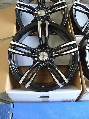 "1780 Brand New 19"" Alloy Wheels To Fit BMW 1 2 3 Series E90 F30 4 5 Series 5x120 2"