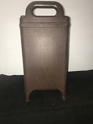 Cambro Brown Insulated Soup/Beverage Carrier 350LCD 3.3/8 Gallon Capacity. #12 6