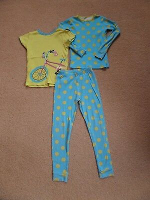 FABULOUS Girl's 3 Piece CARTER'S Pyjama Set Age 6 From USA Turquoise 2