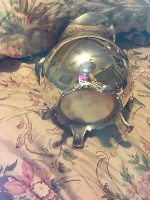 Vintage 1883 FB Rogers Silver Co. Plated Footed Lipped Water Pitcher.# 3707 3