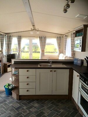 Static Caravan For Hire with private 'hot tub' at Sand Le Mere holiday village. 8