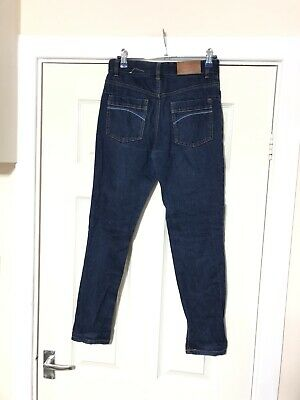 Ted Baker Blue Jeans Boys Size 11 Years Zip Closure (A796) 6