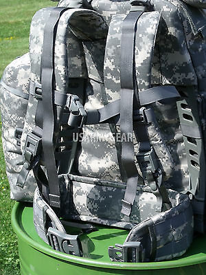 $259 Fully Loaded Molle ACU Medium Rucksack Military Backpack Hydration Pouches 7