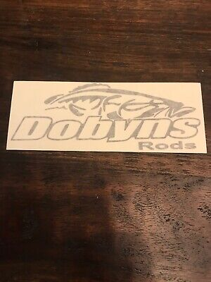 """Dobyns Rods RED Vinyl Decal 8/"""""""