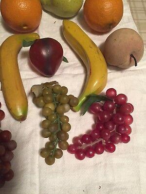 LIFE SIZE REALISTIC Fruit Set – 12 Pieces Decorative Fruits ...