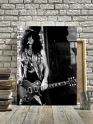 FANTASTIC SLASH GUNS N ROSES CANVAS #12 QUALITY MUSIC PICTURE A1 A3 FREE P/&P