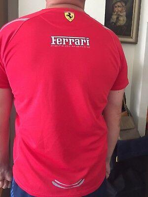 Ferrari / Formel 1 - Mens Santander Alonso Polo Shirt - Rot, XL NEU