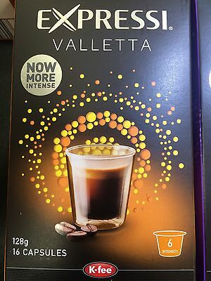 Expressi K-fee Coffee Machine Capsules Pods ALDI 80 caps (5 boxes) u choose 10