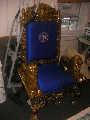 Royal/Religious Gold Throne For Staging, Sets, Photo Shoots, Etc. 4