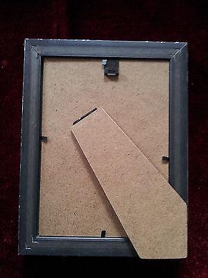 Marco de fotos PLATA ANTIGUA, Negro con Vidrio, 13x18 Marco marco de fotos 2 • EUR 28,32