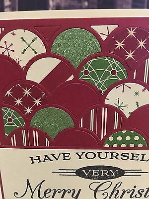 stampin up have yourself a very merry christmas be of good cheer handmade card - Have Yourself A Very Merry Christmas