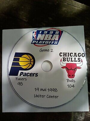 NBA Playoffs 1998 DVD Michael Jordan Bulls vs Pacers 2
