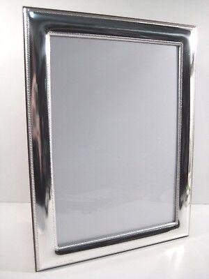 Cornici argento 925 bilaminato,x foto da 9x13 a 18x24,liscia con bordini,TOP 2