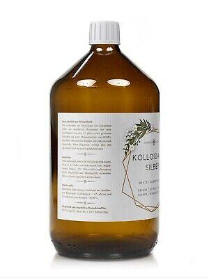 Kolloidales Silber (Silberwasser), 100ppm in Apotheker-Glasflasche (250-1000 ml) 5