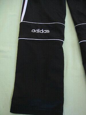 Pantalon Adidas Noir Années 90'S Survetement vintage pants