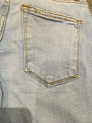 Boys River Island Light Blue Jeans, 26/30, Good Condition 9