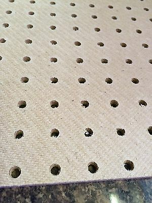 1200 x 1200mm 6mm Pegboard 25mm Hole centres