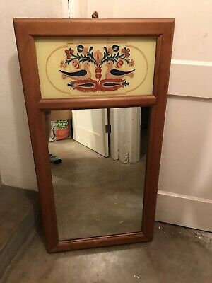 Tell City Chair Company Solid Hard Rock Maple Andover Wall Mirror 2