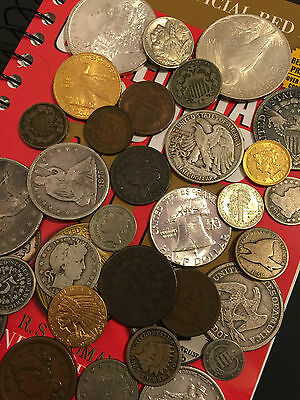 ✯Estate Sale Lot Old Us Coins✯ Money✯Gold Silver✯Big Value Collection 50 Years+✯ 4