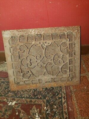 Antique Grate Single Louver 9x11 Heating Vent 2