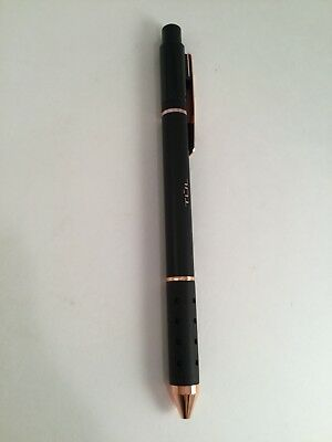 Tul Retractable Pen Gel Ink Black Rose Gold Limited Edition Med 0.7 GL Series