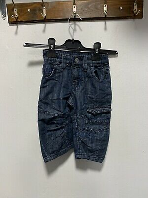 Boys cute combat jeans size 3 Years Adjustable waist excellent condition 5