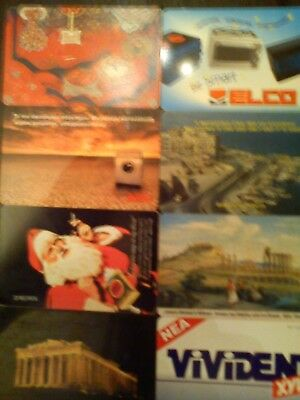Rare Phone Card Telecards Greek   8 Items  Collectibles Phonecards 6