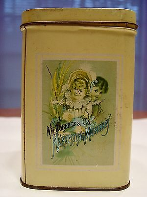 Picture Tin Italy Vintage 1986 Harvesting Machinery USA Advertising