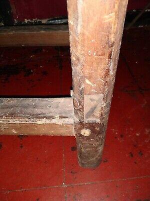 Beautiful Antique  English  Cobblers Bench 12